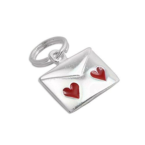 Enamel Love Letter Charm - 1
