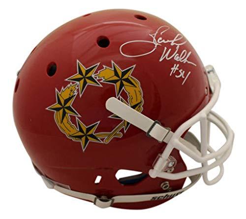 Herschel Walker Autographed Signed Memorabilia Georgia Bulldogs Replica Schutt Helmet Heisman Bas - Certified Authentic