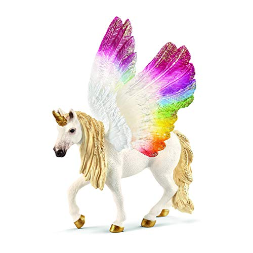 Schleich Winged Rainbow Unicorn (Winged Unicorns)