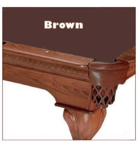 8' Brown ProLine Classic 303 Billiard Pool Table Cloth Felt by Pro Line