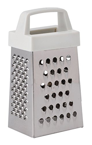HIC's Mini Garlic Grater, Stainless Steel, 8.75 x 2.25-Inches (Mini Cheese Grater)