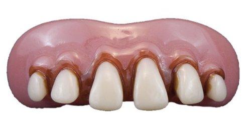 Loftus Billy Bob Caveman Teeth One Size, White/Pink -