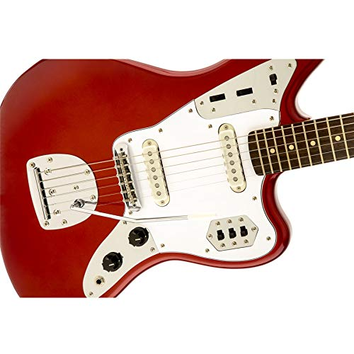 Squier by Fender Vintage Modified Jaguar Guitarra Eléctrica - Candy Apple Rojo: Amazon.es: Instrumentos musicales