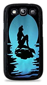 Popular Blue Silhouette Print Silicone Case for Samsung Galaxy S3