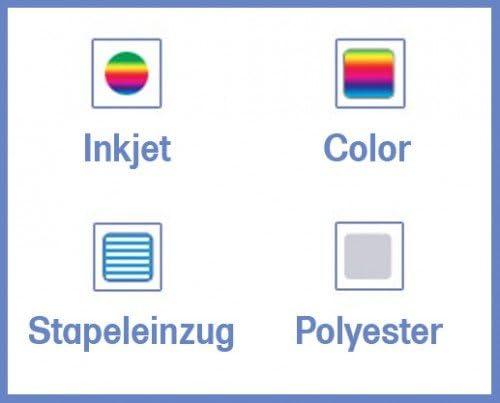 Inkjet lot de 10 film autocollants transparent format a3 à imprimer: Amazon.es: Oficina y papelería