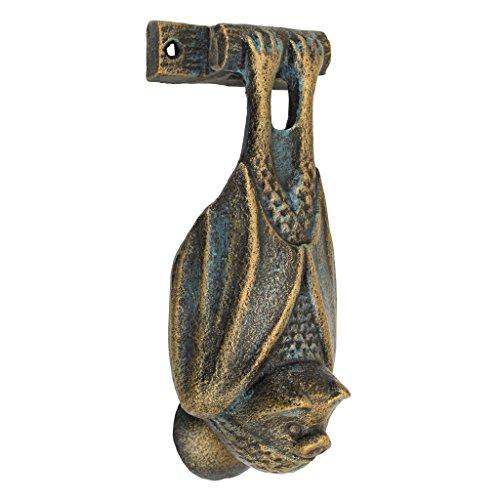 Design Toscano Vampire Bat Cast Iron Door (Hand Door Knocker)