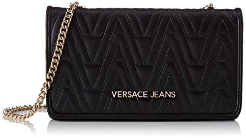 Versace Jeans EE3VRBPY4 E70040, Sacs bandoulière femme - Noir - Noir (Nero E899), 10.5x4x19 cm (W x H x L) EU