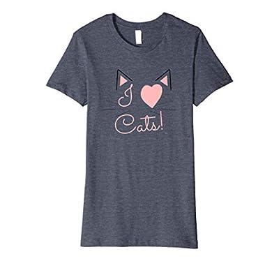 Womens I Heart Cats
