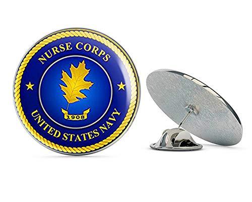 (NYC Jewelers Round Navy Nurse Corps Seal (Logo Naval) Metal 0.75