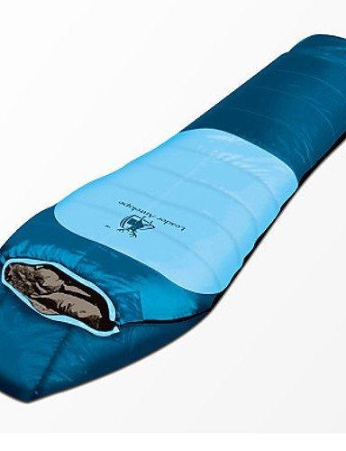 Schlafsack Mumienschlafsack Einzelbett(150 x 200 cm) -19? Enten Qualitätsdaune 1500g 215X85 Reisen / Outdoor warm halten Gazelle Outdoors