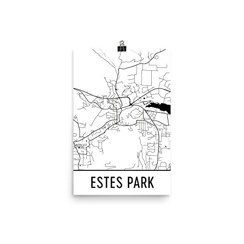 estes park colorado poster