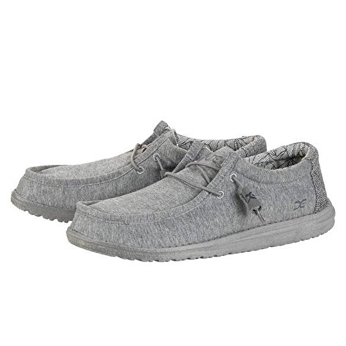 Grey Stretch Size 9 Dude Shoes EU 111363000 Shoes 42 US Wally Fleece qnnTXR