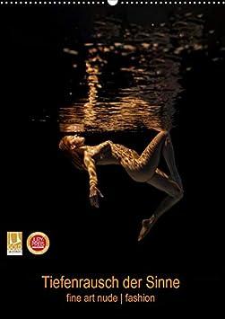 Tiefenrausch der Sinne (Wandkalender 2020 DIN A2 hoch): Fotokalender von Frauen unter Wasser (Monatskalender, 14 Seiten ) (CA