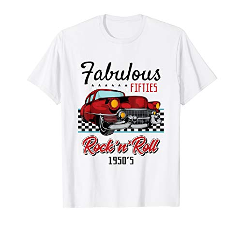 50s Rockabilly Vintage 1950s Clothing For Women Men Tshirt ()
