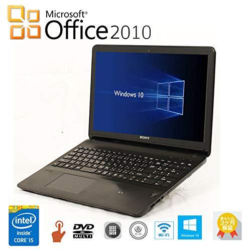 直送商品 【Microsoft Office 2010搭載】【Windows 10搭載】テンキー VAIO タッチパネル付 タッチパネル付 SONYノートパソコン SSD:120GB VAIO Fit 15E★第四世代 Core i5/WIFI/USB3.0/HDMI/WEBカメラ/DVDドライブ/SSD メモリ 選択可能/ 中古ノートパソコン (SSD:480GB メモリ:8GB) B07QGHQSHJ SSD:120GB メモリ:8GB, あきらファーム:6493110a --- ciadaterra.com