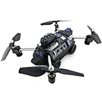 JJRC H40WH 2-IN-1 Flying Tank RC Drone Foldable Altitude Hold 2.4G RC Quadcopter with FPV WiFi 720P Camera