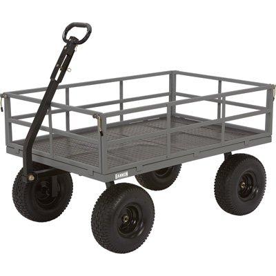 Bannon Industrial-Grade Steel Wagon - 1500-Lb. Capacity, 15in. Tires ()