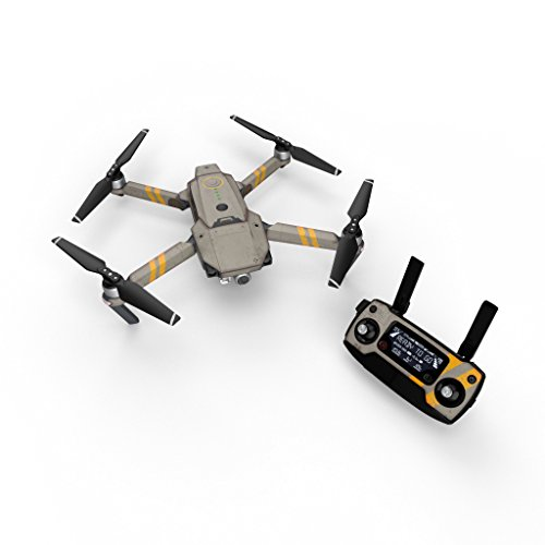 Dystopia Cyberpunk Decal For Drone Dji Mavic Pro Kit   Includes Drone Skin  Controller Skin And 3 Battery Skins