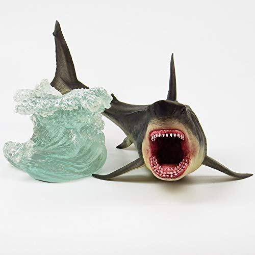 Megalodon Toy Shark Statue Figurine The MEG Paleontology Collectibles Oceanic Nautical Display by GemShark Collectiobles (Image #4)