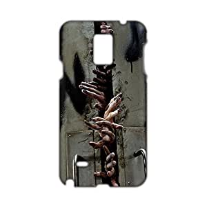 Angl 3D Case Cover The Walking Dead Horrible Walkers Phone Case for Samsung Galaxy Note4