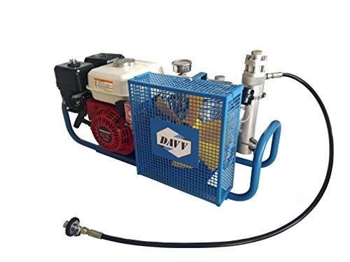 IORMAN 100L/Min 5.5-HP High Pressure Gas-Powered Compressor 4500psi Gasoline Drive Air Fill Station (SCU100P, Petrol)