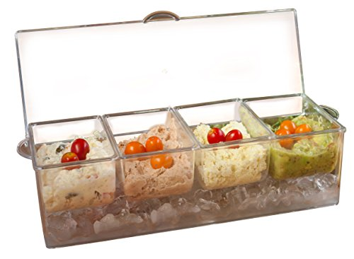 ADORN Section Condiment Server Hinged product image
