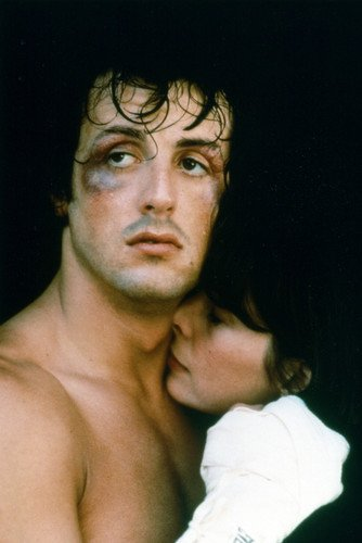Sylvester Stallone Talia Shire classic iconic image Rocky 24