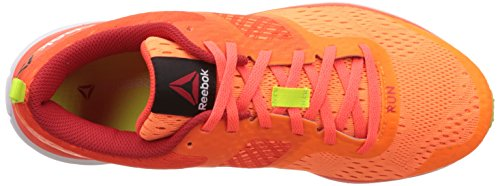 Naranja Zapatillas Mujer Amarillo Motor Elec Running Peach Rojo Reebok Red de Yell Atomic Slr Red Distance One T8FqEY