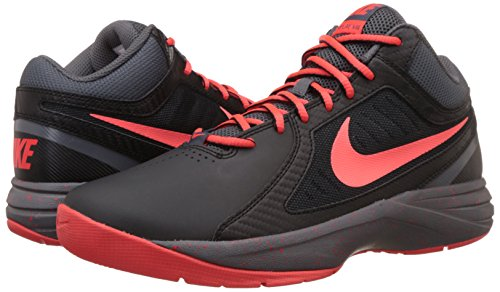 Uomo The Black dark bright Crimson Nike Calzatura Grey Viii Overplay wRHxqSI