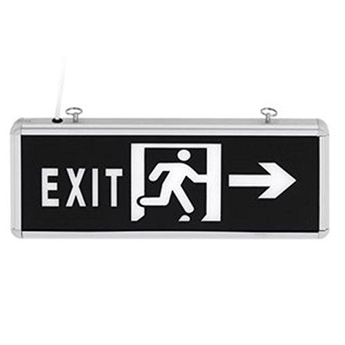 elmark LED Cartel Cartel Señal Texto Exit salida de ...