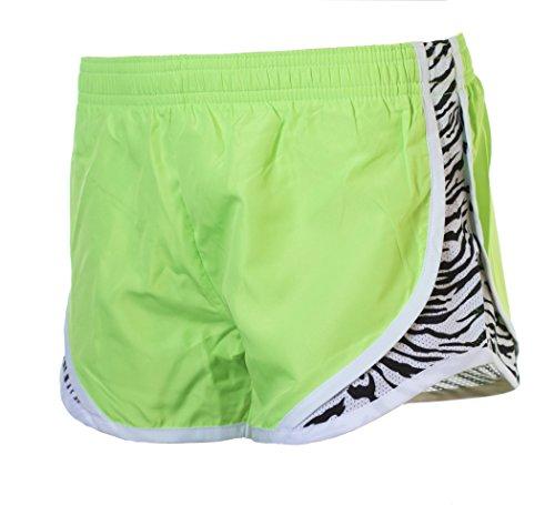 Momentum Shorts Zebra Green EMC Neon Sports xpwwZa