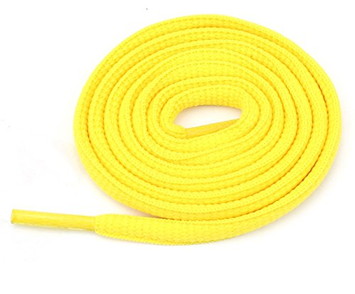 Yellow Bowling Shoe (Oval Athletic Shoelaces 1/4