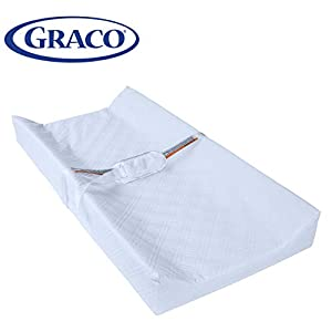Graco Premium Contoured Infant and Baby Changing Pad - Ultra Soft Buckle Cover for Premium Comfort, Water Resistant, Baby Safety Belt, Non-Skid Bottom, Fits Standard Size Changing Topper 13