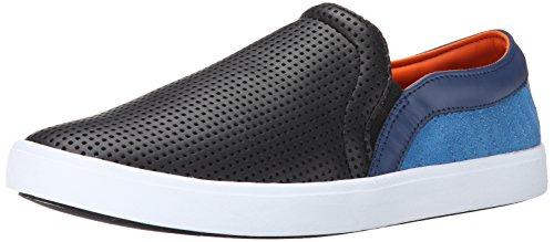 Creative Recreation Men's Capo Fashion Sneaker, Black/Blue Cork, 10.5 M US