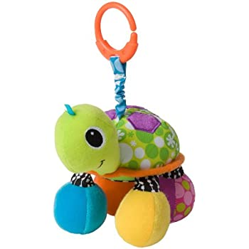 Amazon Com Infantino Topsy Turtle Mirror Pal Baby Toys