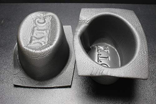 2 PCS Speaker Baffle Acoustic Foam 6'' X 9'' Oval Universal CAR Audio Bass VXT69