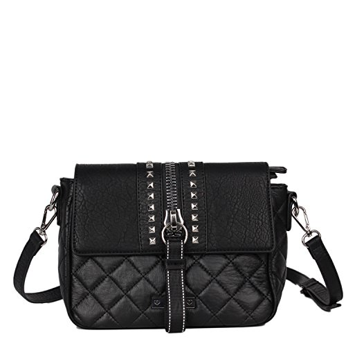 and Flap Bag Black Cross Adjustable Nikky Shoulder Crossbody Strap Black Women's Body Size Top One w1qtxZXA