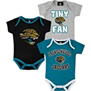 Jacksonville Jaguars 3pc Creeper Set 18 Months Infant Baby