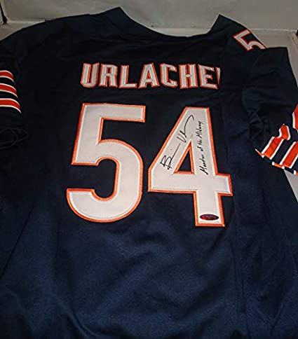 new product 99d71 2d1dc Brian Urlacher signed Chicago Bears jersey - Tristar - 8x ...