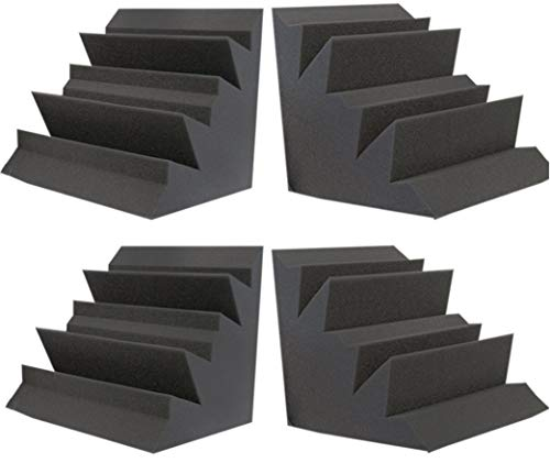 Auralex Lenrd Bass Traps - Foamily Acoustic Foam XL Bass Trap Studio Soundproofing Corner Wall 12