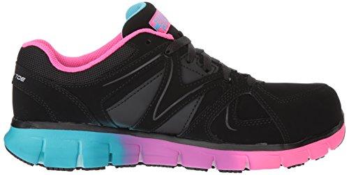 for Skechers Women's Multi Work Black 4zvvqa1O