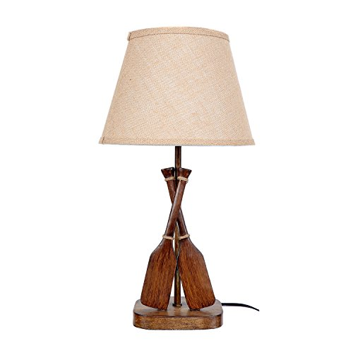 DEI Lake Oar Décor Lamp, Medium, Brown