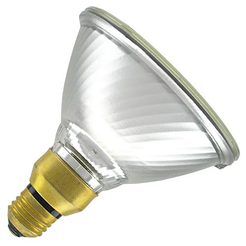 ACE by GE 85578, 90PAR/H/1500/FL25/ACE 120V, 2900K Warm Colored, Halogen Floodlight (6 Pack)