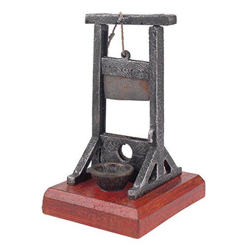 design toscano desk sized guillotine gothic home decor. Black Bedroom Furniture Sets. Home Design Ideas