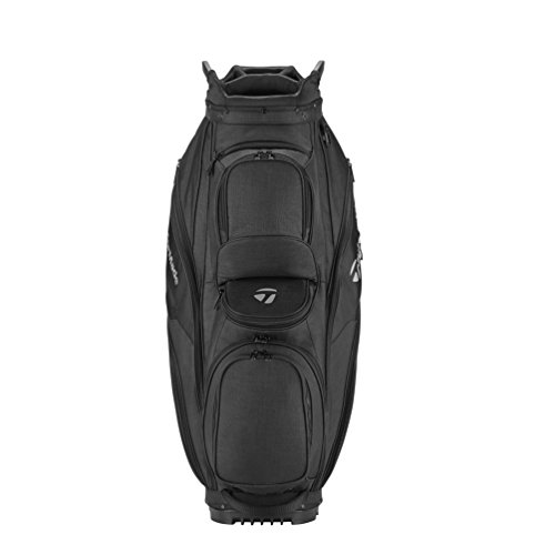 TaylorMade Supreme 2018 Cart Bag (Black) (Black)