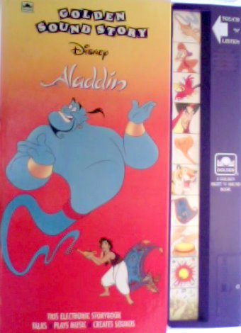 Aladdin (Golden Sight N Sound Book) by Golden Pr