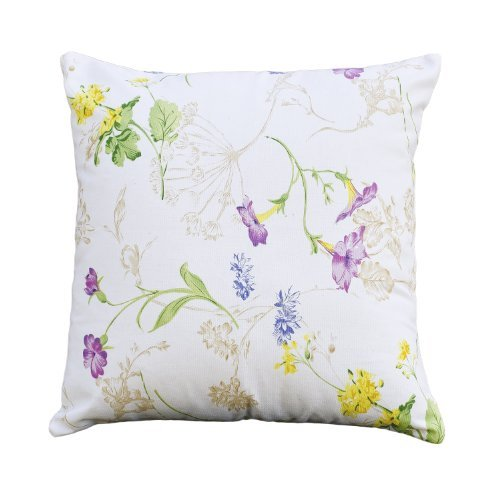 LinenTablecloth May Day Floral Pillow Cover