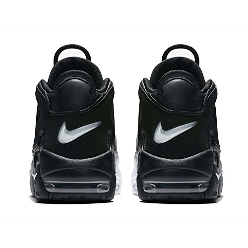 Nike Hombres Air More Uptempo 96 Zapatillas De Baloncesto Black Cool Grey White