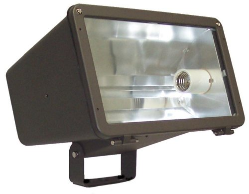 Morris Products 71074 Large Floodlight, HPS Type, Mogul Lamp Base, 400 Watts, 120/208/240/277 Volts by Morris Products