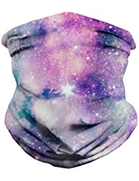 Seamless Face Mask Bandanas for Dust, Music Festivals, Raves, Riding, Outdoors